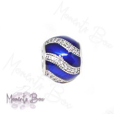 Pandora Kék dísz charm