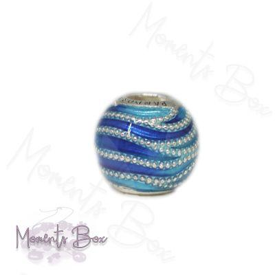 Pandora Kék örvény charm