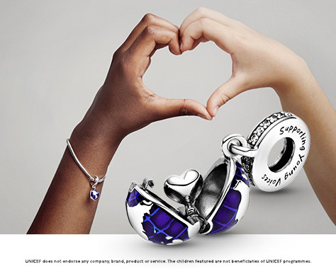 Pandora Kék bolygó charm: sok kicsi sokra megy