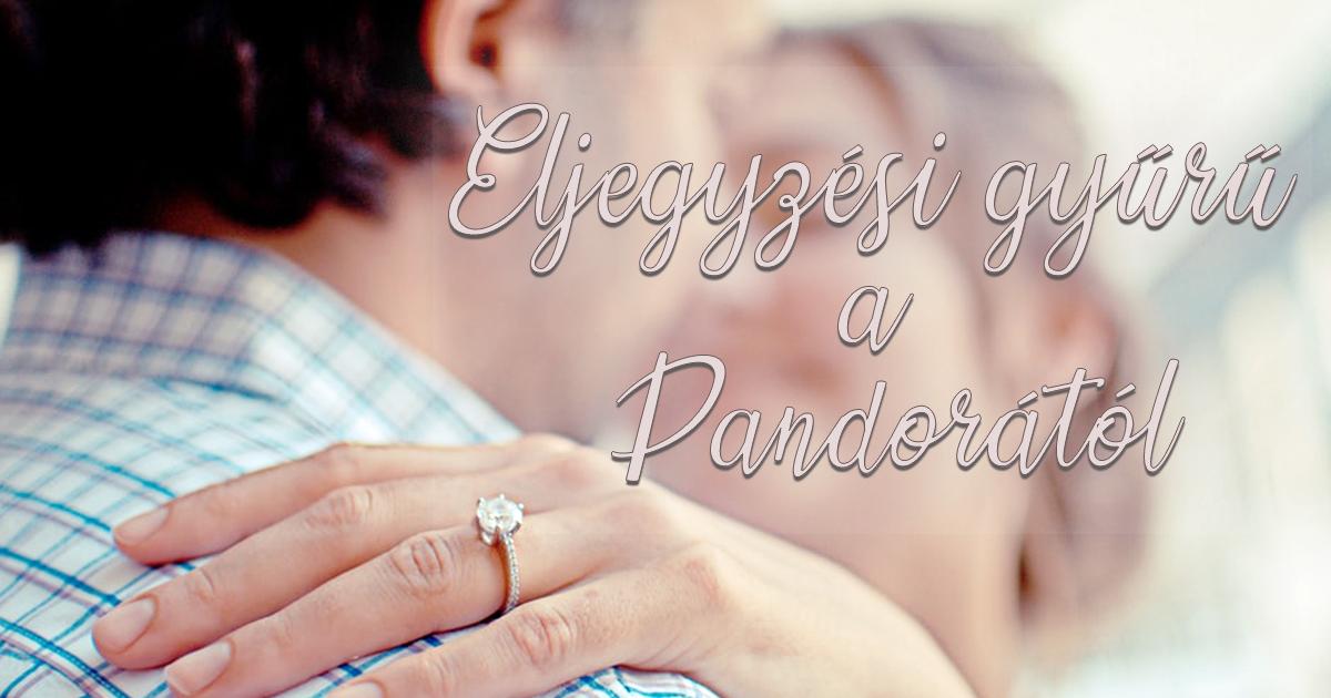 Eljegyzési gyűrű a Pandorától